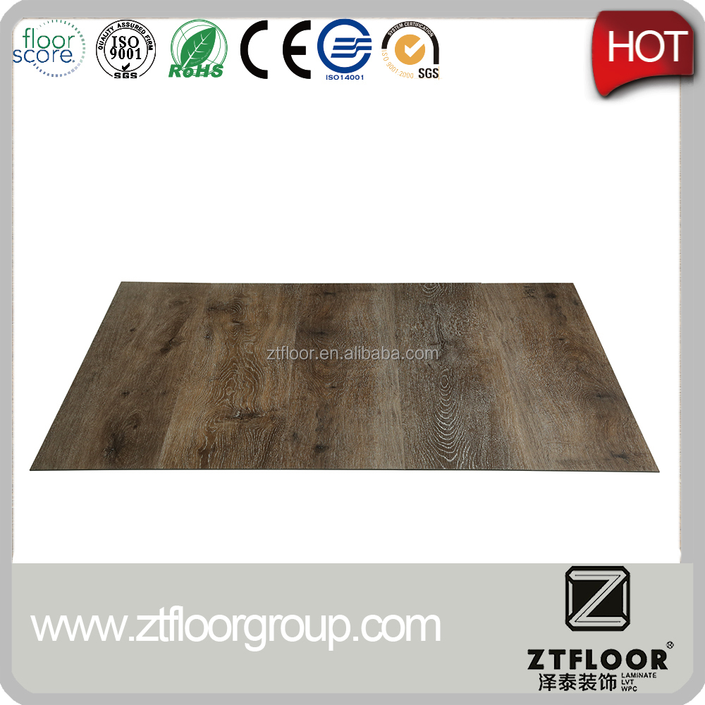 Various Types and Shape Flooring Planks of PVC Easy To Install Combing With Different Products