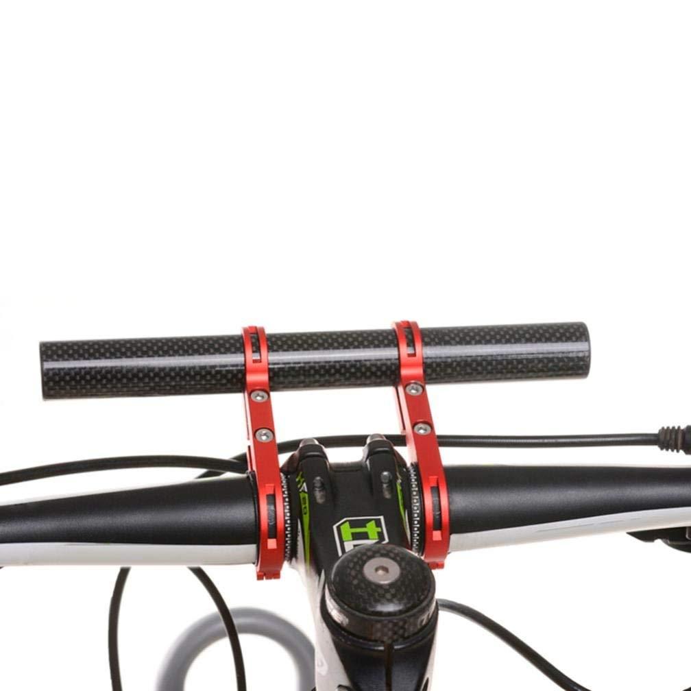Hemore One Pair Bike Bicycle Aluminum Handlebar Grips Handle Bar Cap End Plugs