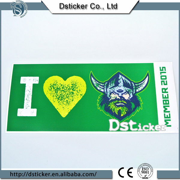 Best Seller Gloss Printing Vivid Design Fashion Sticker Cars