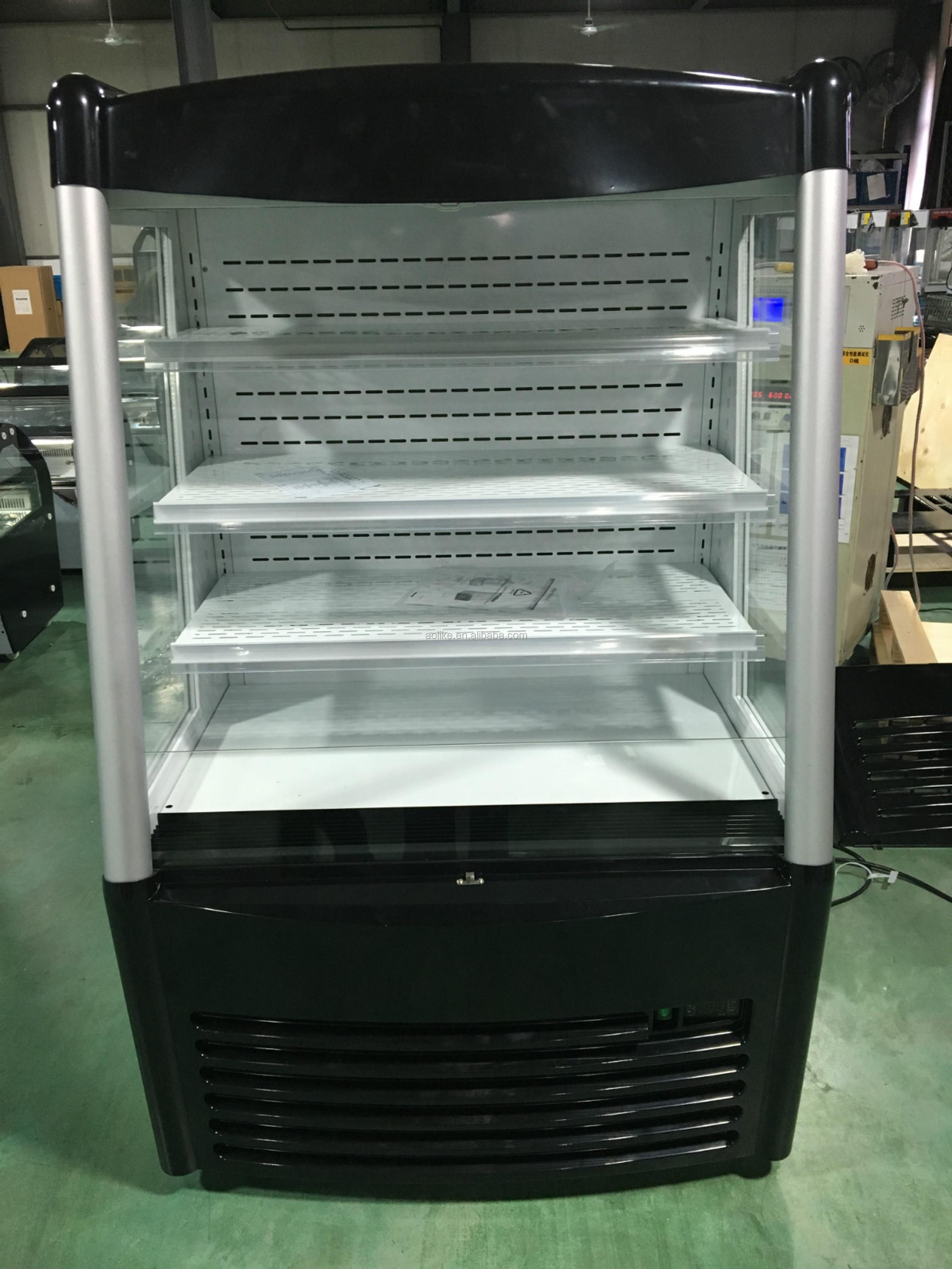 Supermarket multideck display fridge with ETL certificate