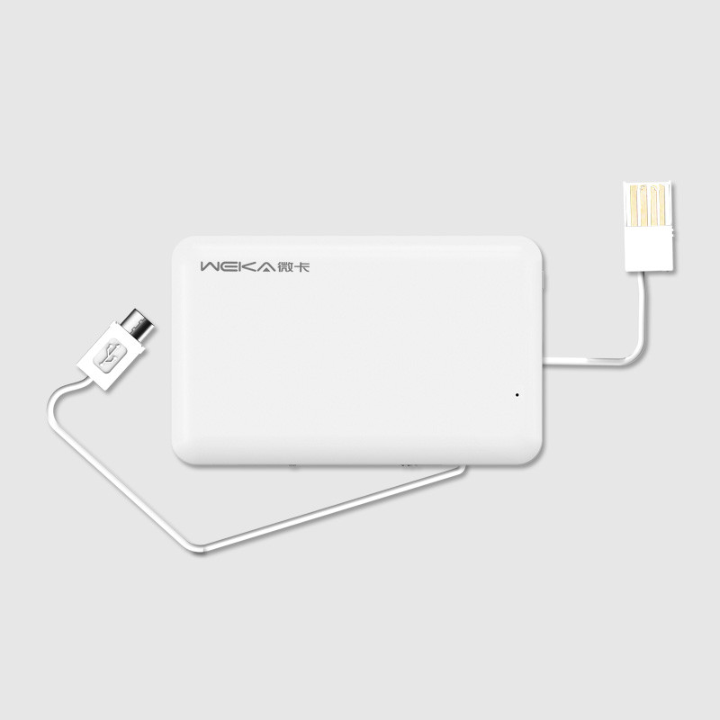 Hot selling New design silm credit card power bank1020mah for Andorid/IOS