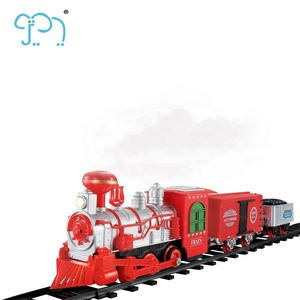 Mini Electric Train For Kids Battery Operated Toy Train For Boys Toy Train Steam Locomotives With Smoke