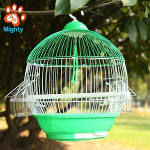 "New Round Dome Canary Cockatiel Parakeet Bird Cage around 10"" Diameter"