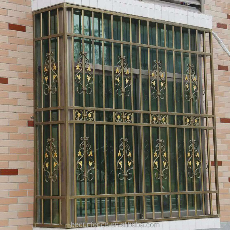 Wrought Decorative Iron Window Guards Grill Design For Safety Buy