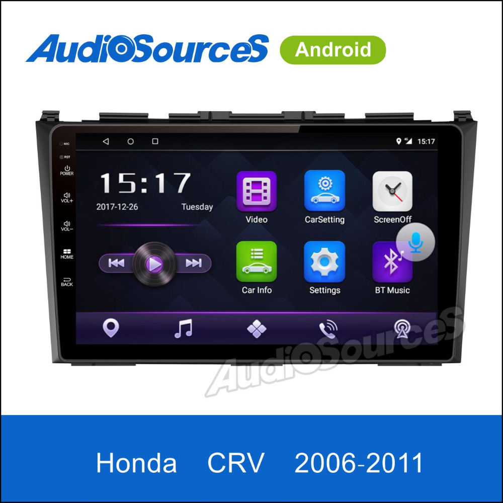 Wholesale gps navigation system built in GPS GLONASS car dvd player Radio for honda crv 2006 - 2011