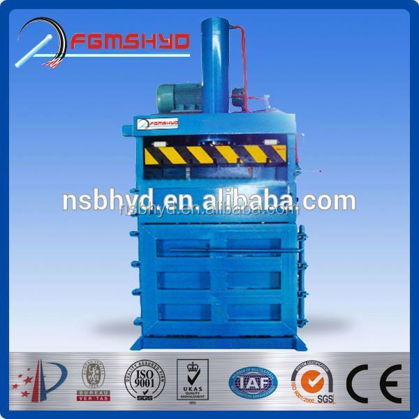 YD CE new pet bottle bailing press of China supplier