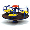 2018 hot new products small merry-go-round outside playground equipment carousel rides for sale China cheapest