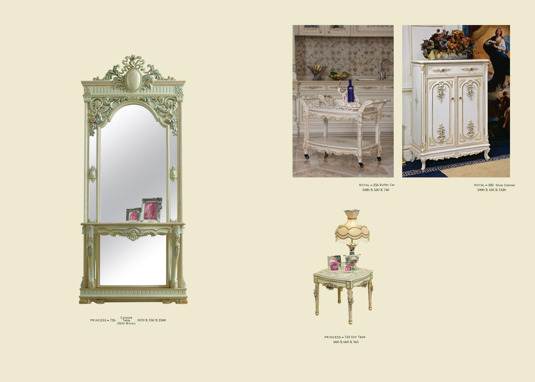 Lujo Royal Antiguo Mueble De Cocina De Madera Sólida Muebles ...