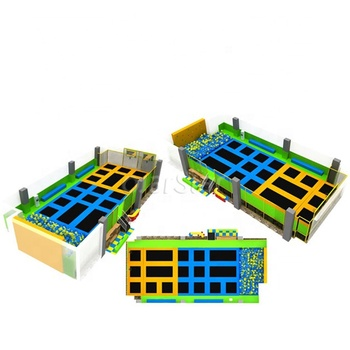 Worldstar hot sale indoor trampoline park equipment for children