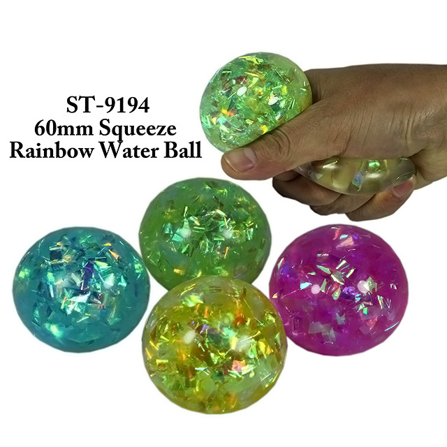 60 มม. SqueezeRainbow W ater Ball