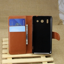Excellent quality new arrival folio case for huawei ascend g510