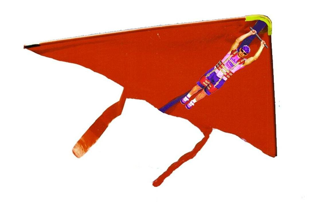 Hang Glider Jack With Launcher (colors may vary)