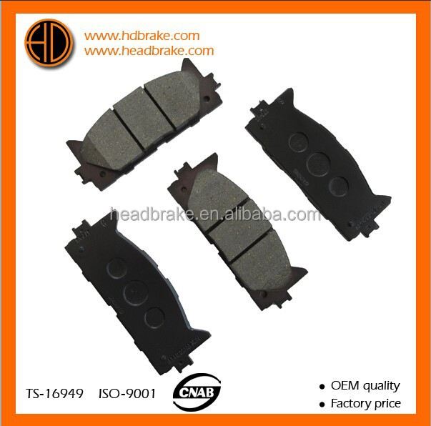 ceramic brake pads for toyota camry 04465-33471