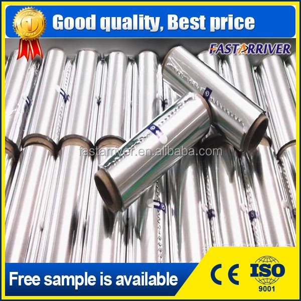 silver color embossed cooking aluminium foil for outdoor BBQ grill