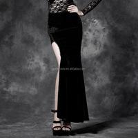 3de6bdef8 Cheap Girls Black Velvet Skirt