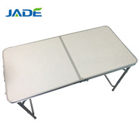 Portable Aluminum MDF camping table picnic table outdoor folding table