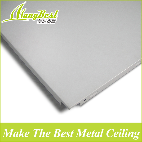 Fireproof corrugated aluminum ceiling panel