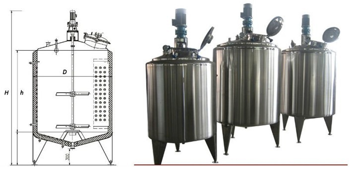 Best selling vertical stainless steel food grade Oil Storage tank