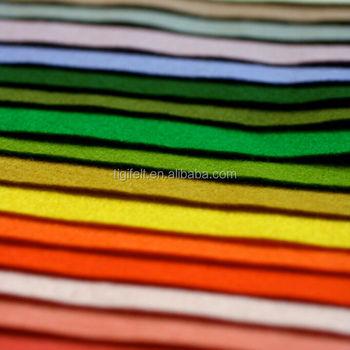 2mm Colored Acrylic Felt