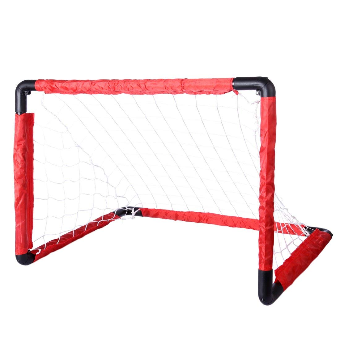 RuiyiF Kids Soccer Goal and Ball Set, Soccer Goal Net Toddler Portable for Backyard Indoor Outdoor -Small