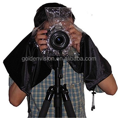 Universal Camera Rain Cover Raincoat Waterproof Dust Protector for SLR Digital Camera Canon, Nikon, Sony, Pentax, Olympus
