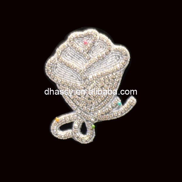 china Guangzhou wholesale market of shoes special shape crystal rhinestone appliques designs for Dhorse DH-284