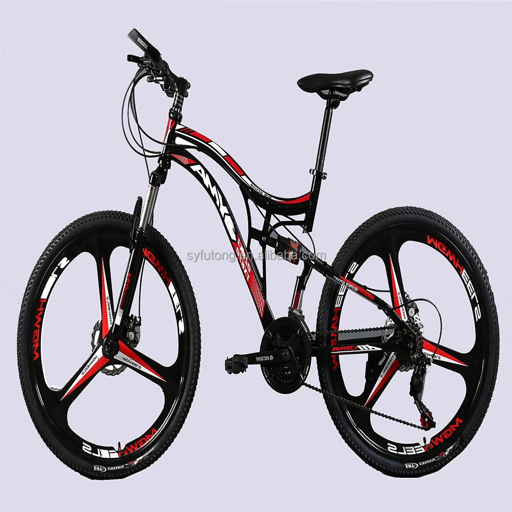 29 aluminum frame bmx full suspension mountain bike