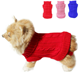 Easy cable knit pattern free clothes pet dog sweater