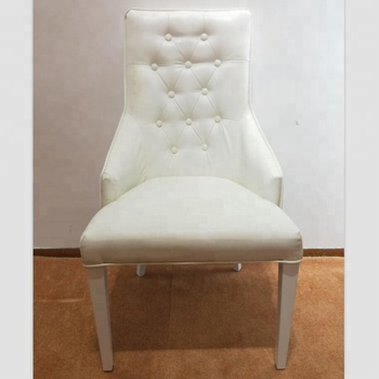 French Style High Backrest Dining Chair