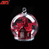 Wholesale personalized glass decorative chinese merry christmas gifts
