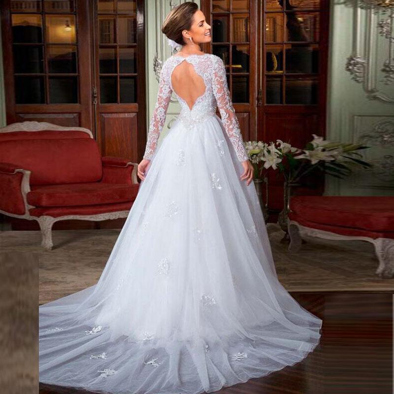 Wedding Gowns Open Back: Open Back Wedding Dresses Online_Wedding Dresses_dressesss