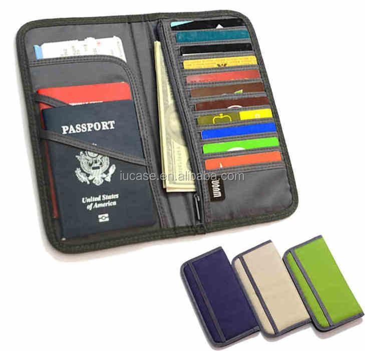 Custom Rfid Blocking Leather Passport Holder,Travel Passport Cover ...