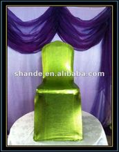 2012 New fashinal and uniquic metallic lycra spandex chair cover