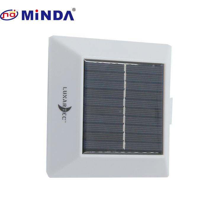 Waterproof post cap wall post parts outdoor garden solar light