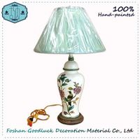 Hand Painted Chinese Style Online Shopping Living Room Table Lamps For Home