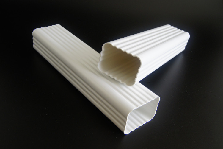 Square Pvc Drain Pipe Pvc Downspout For Rain Gutter System
