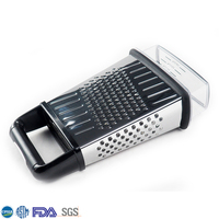 Factory Price Kitchen Tools Cheese Grater Vegetable Box Grater