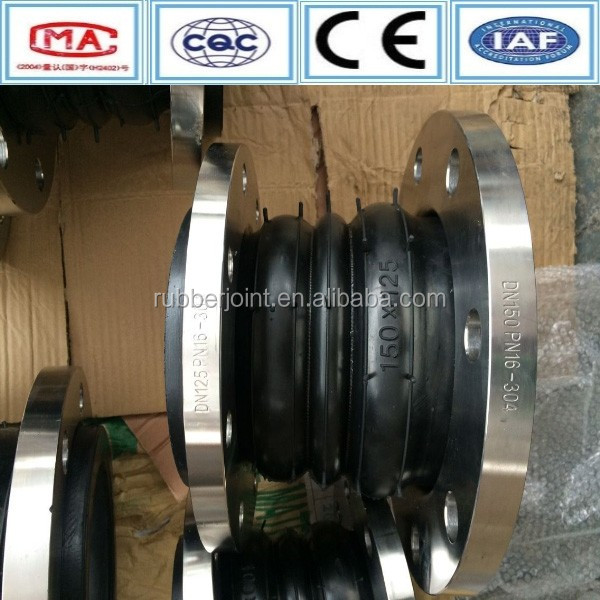 Made in China manufacturing high pressure galvanized rubber expansion joint
