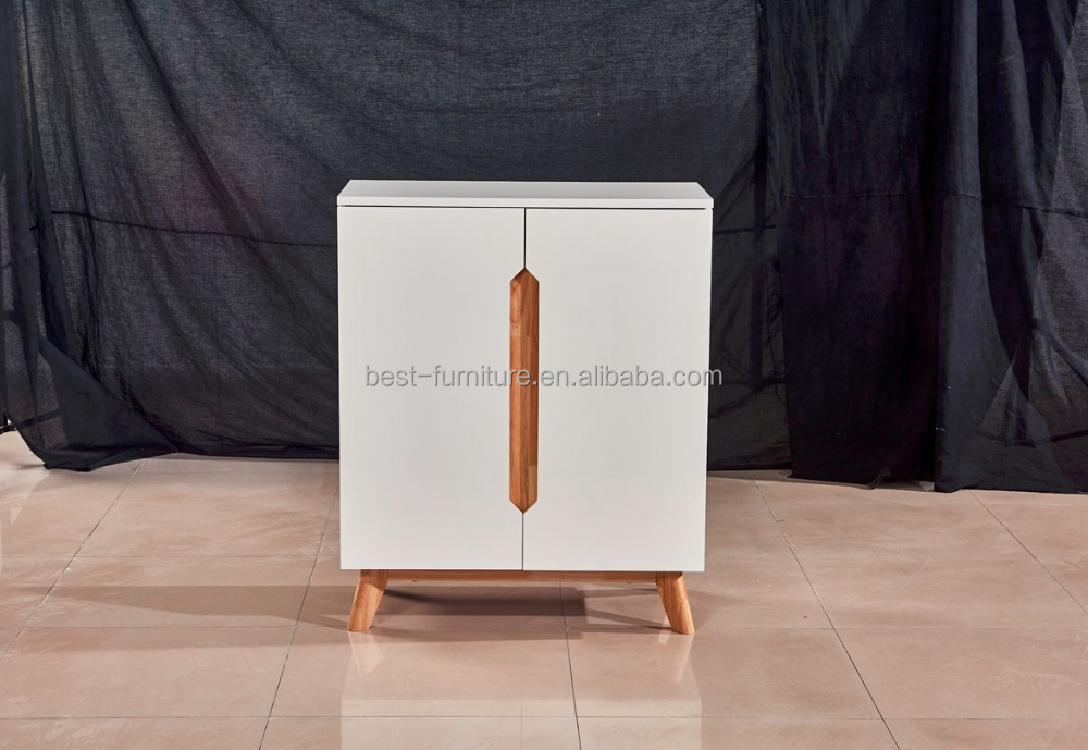 Dining room wood sideboard mdf cabinet for kitchen
