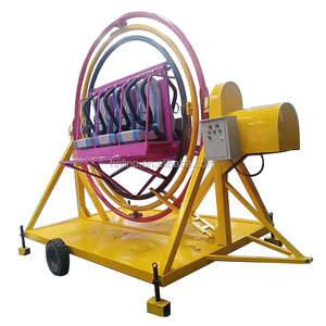 Super Attractive!!! China Supplier thrill rides amusement park human gyroscope rides for sale