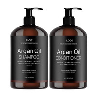Private label organic Argan oil Shampoo Smoothing And Moisturizing