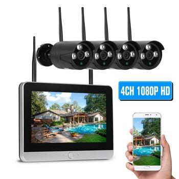 Nvr Kit 4ch Wireless Camera System 720p 960p 1080p 4ch Wifi Nvr Kit Bullet  Ip Cctv Camera - Buy Nvr Kit,Wireless 1080p Hd Ip Cctv Security Camera,4ch
