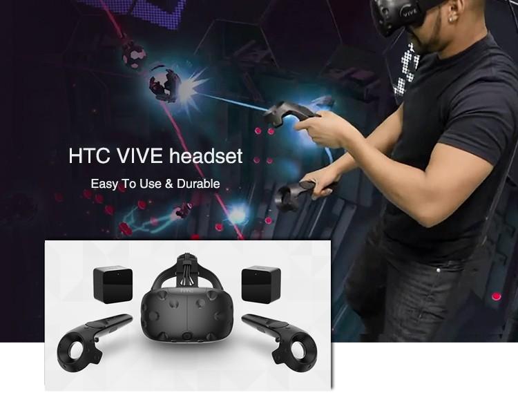 VR Standing Space Vive 3D Glasses 9D Simulator Rides Virtual Reality shooting simulator
