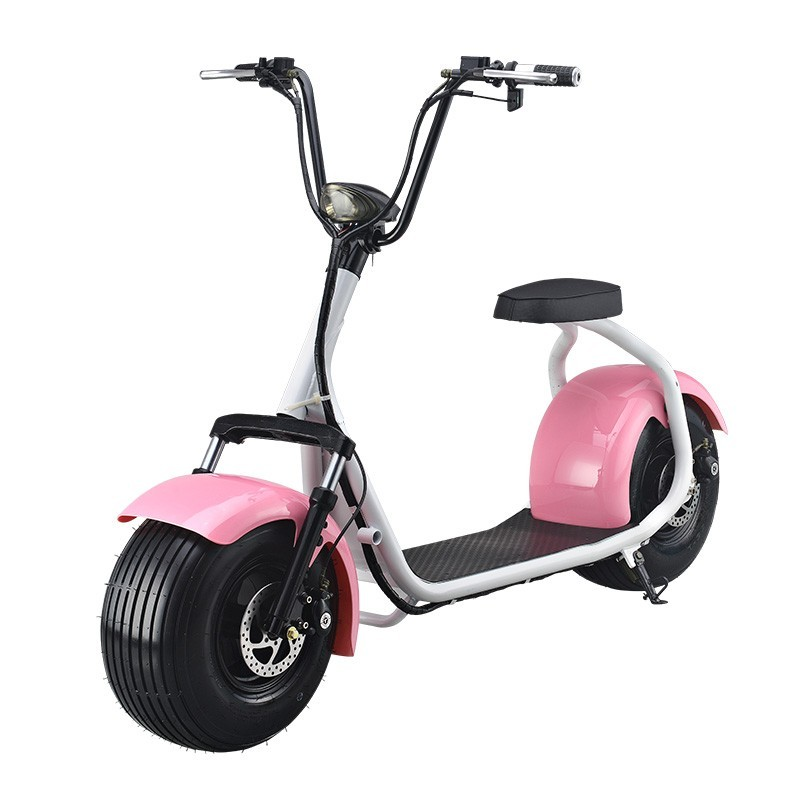 Green Travel-Harley 1000W Brushless Motor Electric Citycoco Scooter/Adult off Road Electric Autobike with Hydraulic disc brakes