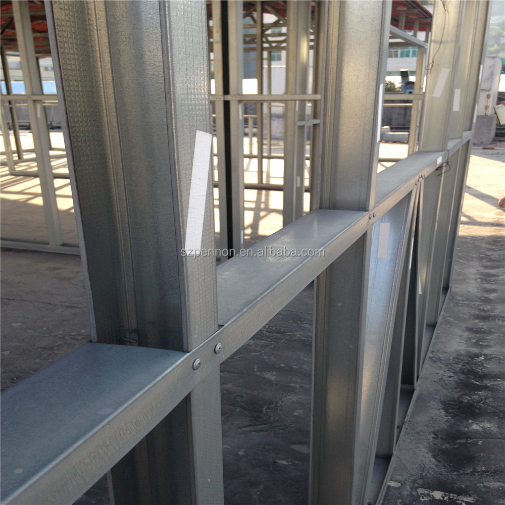 Metal Stud Partition Walls : Wall partition galvanized drywall metal stud and tracks