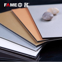 Alucobond aluminum composite panels sandwich panel