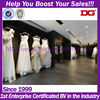 wedding dress display case decoration of wedding dresses shop in dubai