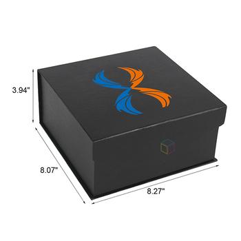 Black Packaging Antique Magnet Cowboy Hat Storage Box