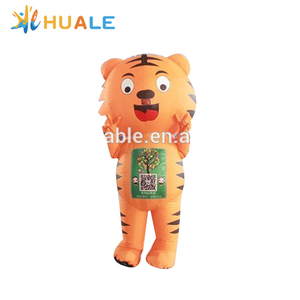 Used Commercial Inflatable Tiger Cartoon, Advertising Inflatable for Promotion