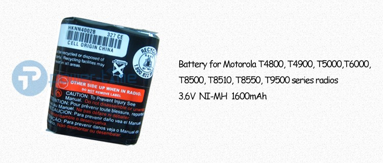 Ni-MH Battery for Motorola Talkabout Radio T5950 T6000 T6210 T6200 T6220 T6250